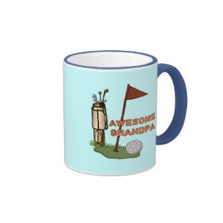 Awesome Grandpa Golf Mug