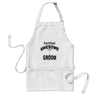 Awesome Groom Adult Apron