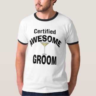 Awesome Groom T-shirts