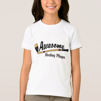 Awesome Hockey Player Kids T-Shirt