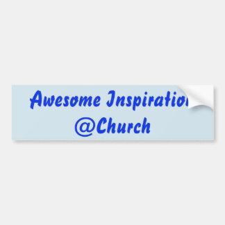 Awesome Inspiration @Church sticker