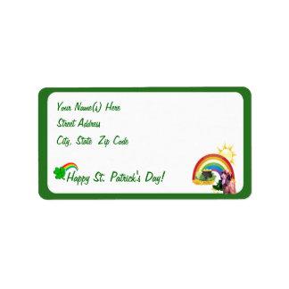 Awesome Irish Setter Return Address Labels
