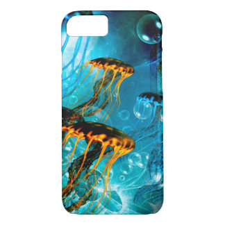 Awesome jellyfish,underwater world iPhone 7 case