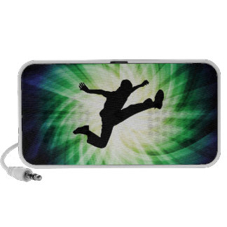Awesome Jump Kick iPhone Speakers