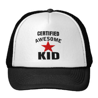 Awesome Kid Hats