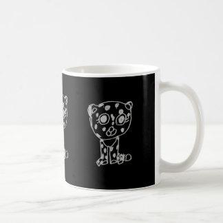 awesome kitties rule chita basic white mug