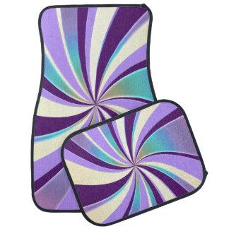 Awesome Lavender Mint Swirl Car Mats Floor Mat