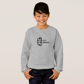 Awesome Left Brained Kid's Sweatshirt