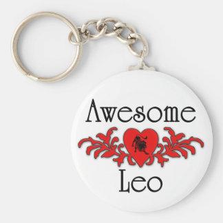 Awesome Leo Key Ring