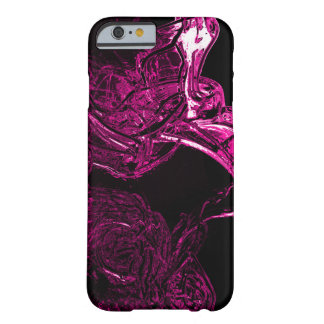 Awesome Liquid Fuchsia Barely There iPhone 6 Case