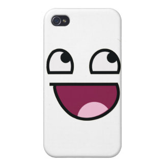 Awesome Lulz Smiley Face iPhone 4 Cases