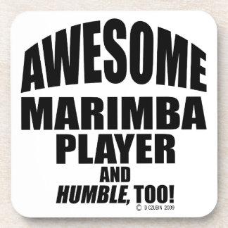 Awesome Marimba Player Coaster