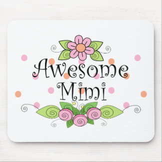 Awesome Mimi T-Shirt Mouse Pad