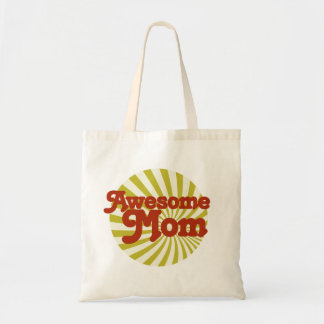 Awesome Mom Budget Tote Bag