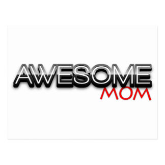Awesome Mom, Mothers Day, no.1 mom Postcard
