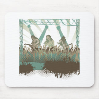 awesome music concert mousepads