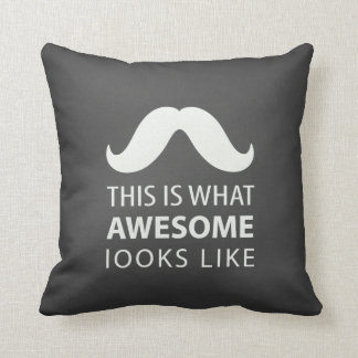 Awesome Mustache Cushion