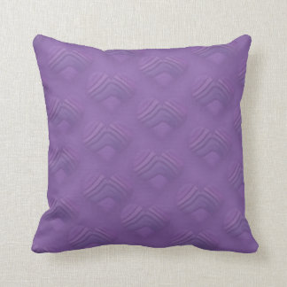 Awesome Muted Purple Hearts Cushion