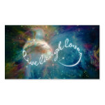 """Awesome mystic """"Live Laugh Love"""" infinity symbol Pack Of Standard Business Cards"""