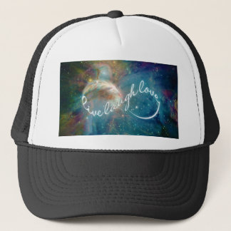 "Awesome mystic ""Live Laugh Love"" infinity symbol Trucker Hat"