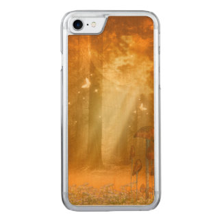 Awesome mystical forest carved iPhone 8/7 case