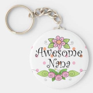 Awesome Nana T-Shirt Keychain