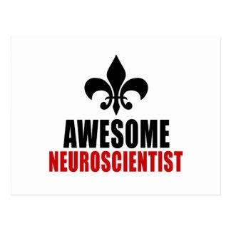 AWESOME NEUROSCIENTIST POSTCARD
