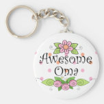 Awesome Oma T-Shirt Key Chain