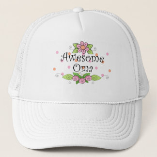 Awesome Oma T-Shirt Trucker Hat