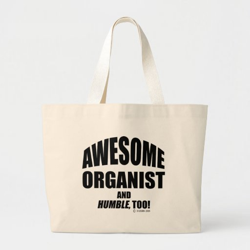 Awesome Organist Tote Bag