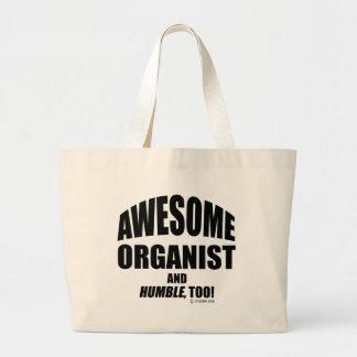 Awesome Organist Jumbo Tote Bag