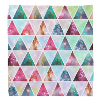 Awesome Orion nebula shining stars triangles Bandana