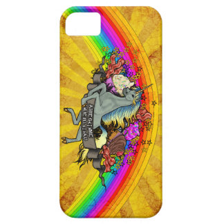 Awesome Overload Unicorn, Rainbow & Bacon Barely There iPhone 5 Case