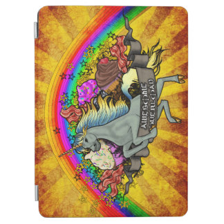 Awesome Overload Unicorn, Rainbow & Bacon iPad Air Cover