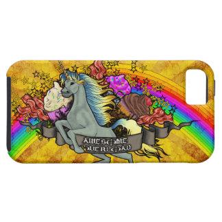 Awesome Overload Unicorn, Rainbow & Bacon iPhone 5 Cover