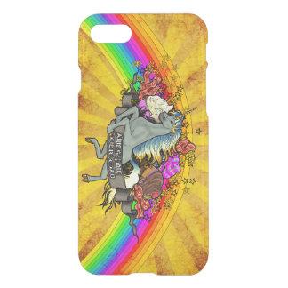 Awesome Overload Unicorn, Rainbow & Bacon iPhone 8/7 Case