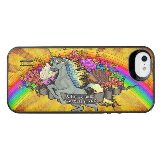 Awesome Overload Unicorn, Rainbow & Bacon iPhone SE/5/5s Battery Case