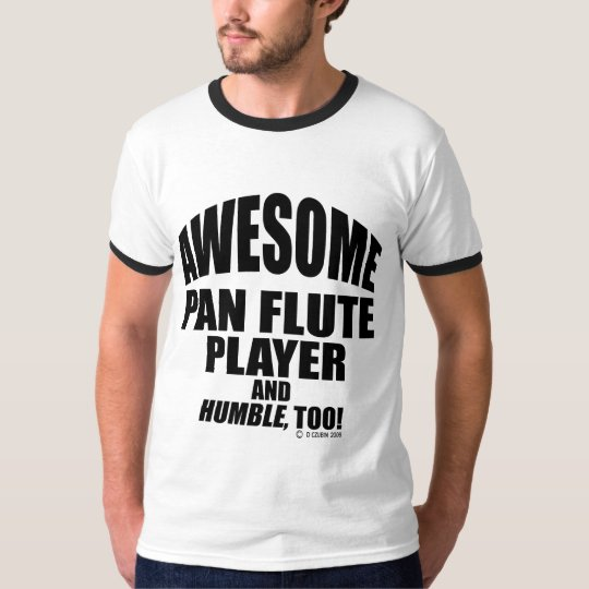 Awesome Pan Flute Player T-Shirt