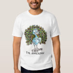 Awesome Peacock T-shirt