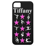 AWESOME PINK STAR PERSONALIZED GYMNAST IPHONE CASE iPhone 5 CASE