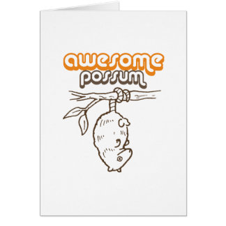 Awesome Possum Cards