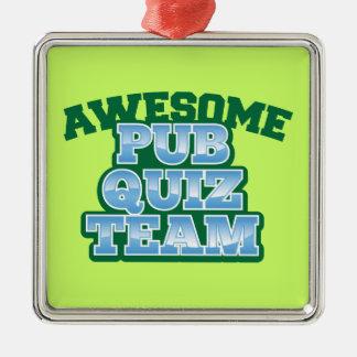 Awesome Pub Quiz TEAM! Christmas Ornament