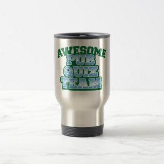 Awesome Pub Quiz TEAM! Stainless Steel Travel Mug