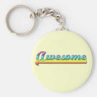 Awesome - Rainbow Key Chains