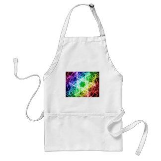 awesome rainbow lightning standard apron