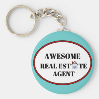 Awesome Real Estate Agent Key Chain