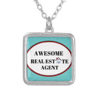 Awesome Real Estate Agent Custom Necklace
