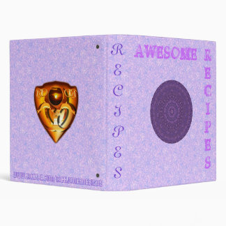 Awesome Recipes Binder