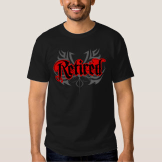 Awesome Retired Tee Shirts