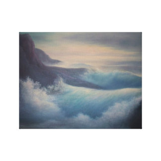 Awesome sea scape oil painting, canvas wrap canvas prints
